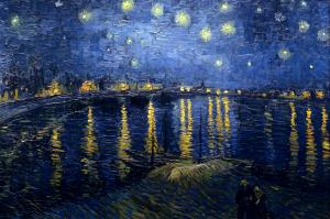 Starry Night over the Rhone - 1888