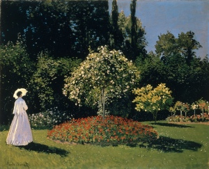 Woman in a Garden (1867) by Claude Monet is my favorite Monet - and Impressionist - painting.